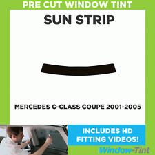 Pre Cut Window Tint - Mercedes C-Class Coupe 2001-2005 - Sunstrip