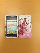 SAMSUNG RUSH M830 FLOWER PRINT SNAP ON COVER/CASE NEW