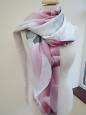 NEW!!! 100% Silk Ted Baker Porcelain Rose Silk SQUARE Scarf --STUNNING! Second