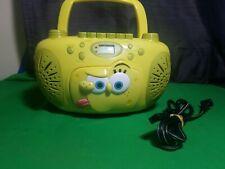 Spongebob Boombox Portable Radio/CD/Cassette/ Player Model No. SB288