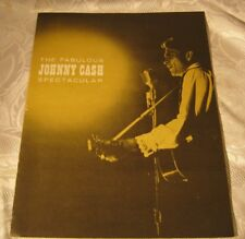 Old Johnny Cash Rare Program Booklet Hank William jr. Tex Ritter Vintage