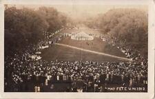 Postcard RPPC May Fete University Wisconsin 1912
