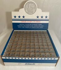 H.E. Harris & Co. - Dime Coin Tubes - 100 Clear Tubes. New
