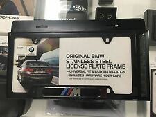 BMW Black M License Plate Frame OEM 82120010404