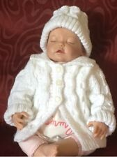 Aran Baby Swing Coat and Hat Pattern. VR44