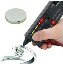JEWELLERS DIAMOND GEMSTONE TESTER + NEODYMIUM MAGNET FOR SCRAP GOLD & SILVER