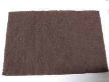 Non Woven mano almohadillas scotchbrite marrón medio 150 X 230mm almohadilla de limpieza X 10 Pad