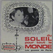 Les Gosses de Paris 45 tours Du soleil pour tout le monde