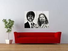 WM PULP FICTION BIG LEBOWSKI TATTOO ICON GIANT ART PRINT PANEL POSTER NOR0577