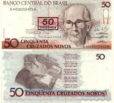 BRASILE Brazil - 50 cruzeiros 1990  FDS - UNC