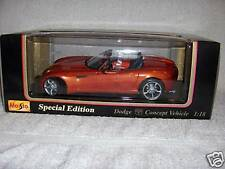 MAISTO 1:18, DODGE CONCEPT VEHICLE, MINT IN BOX