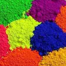 HOLI Gulal Color Rang 1 pack of 7oz 200gms Yellow or RED fun Run VIBE Parties