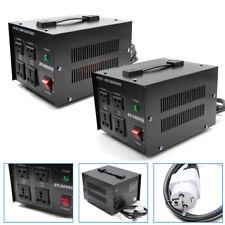 220V/240V auf 110V Spannungswandler Transformator Wandler 1000W 2000W Converter