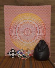 Ombre Mandala Tapestries Boho Bedspread Hippie Wall Hanging Throw Indian Decor