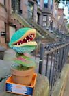 Animated Man Eating Plant Prop Halloween Decoration Led/light Up/sing Sold Out