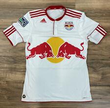 Men Adidas ClimaCool Red Bull New York polyester short sleeve shirt jersey, M