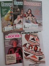 Vintage The Workbasket Home & Needle Craft Books  July, Aug Sept 1989