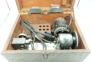 Rare Moore Tools Mini Lathe Spin Indexer with Case &  Extras Tested
