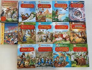 I Grandi Classici Geronimo Stilton - 13 volumi + omaggio - Piemme Editore