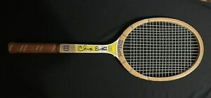 Chris Evert Autographed Tennis Racket COA 1