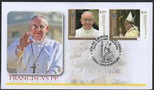 ✔️ VATICAN VATICANO EXCELLENT FDC COVER POPE FRANCIS & RELIGION TOPIC