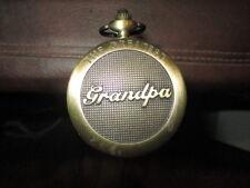 "Mw.A374: Vintage ""Greatest Grandpa"" Watch Top Of Ash Gadget Walking Stick Cane"