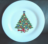 Sea Gull Christmas Tree Dinner Plate Jian Shang