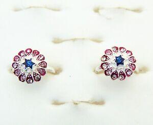 2Pcs Toe Ring Silver Adjustable Ring Indian Ethnic Bichiya Foot Ring Mother Gift