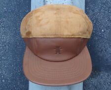 Grizzly Griptape Tan 5 Panels Logo Mens Skate Co. Strap Snapback Hat