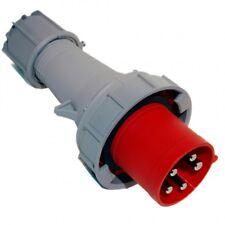 CEE Kraft-Drehstromstecker 63A 380V/400V 5-pol. 6h IP67 PCE 035-6