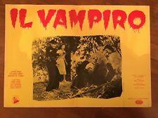 FOTOBUSTA,Il vampiro the vampire,John Beal  Coleen Gray. HORROR