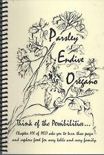*URBANDALE IA 2011 PEO CLUB COOK BOOK *PARSLEY ENDIVE OREGANO *IOWA COMMUNITY