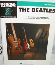 essential elements guitar music book for the Beatles beatles 15 classic songs