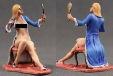 tin toy soldiers painted  Girl 80mm Boudoir