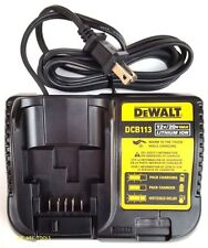 Dewalt DCB113 12V-20V MAX Lithium Battery Charger,For Drill,Saw,Grinder 20 volt