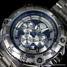 Invicta Marvel Punisher Speedway Viper Steel Bracelet Chronograph 52mm Watch New