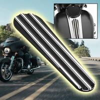 Black CNC Dash Insert Cover For Harley Touring Road Glide FLTR 2008-2017