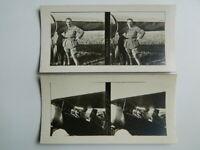 Jean NAVARRE aéronautique photo stéréo guerre 1914-18