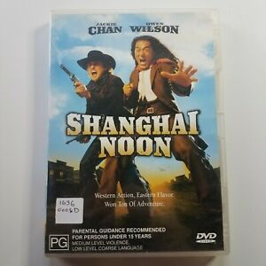 Shanghai Noon | DVD Movie | Owen Wilson, Jackie Chan | 2000 | Action/Comedy