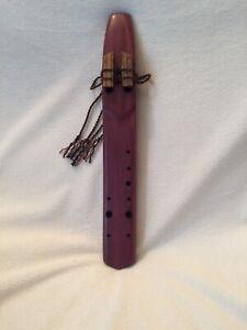 Musical Wood Native American Style Drone Flute High F440hz Arabian Harmony