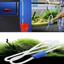 Siphon Gravel Tank Aquarium Water Change Pump Suction Pipe Filter Cleaner Tool