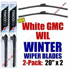 WINTER Wiper Blades 2pk Premium fit 1991-1992 White GMC WIL - 35200x2