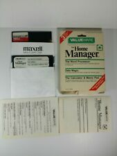 Commodore 64 / 128 The Home Manager Word Processor Calculator Software- Untested