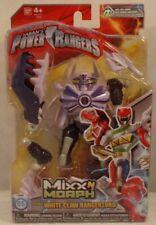 Power Rangers Samurai Mixx N Morph White Claw Rangerzord MegaZord Bandai (MOC)