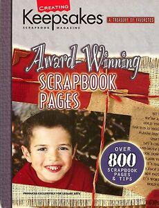Creating Keepsakes - Award-winning Scrapbook Pages, A Treasury of Favorites