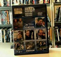 BLU NOTTE MISTERI ITALIANI N°1 LA UNO BIANCA DVD NUOVO E SIGILLATO
