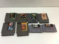 Lot of 8 Nintendo NES Video Games