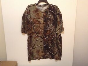 Men's Size 2XL Realtree Hunting Camo T-Shirt AP Cotton NEW! (#CB31-1)