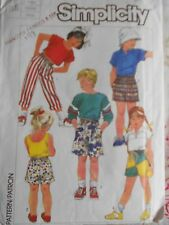 Simplicity Child Jams Sewing Pattern 7534 Size Large