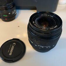 Sigma Zoom 18-50mm f/3.5-5.6 DC D Lens for Nikon F AF